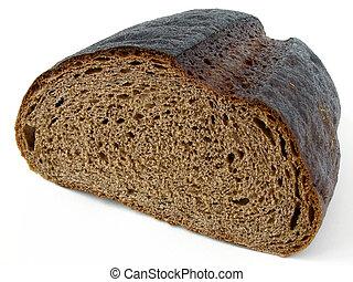 rye bread - half loaf of rye bread...