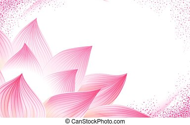 half lotus flower background - flower background, with a...