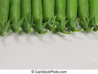 half of green peas