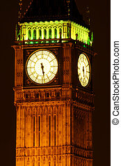 Half past five - Big Ben  London England