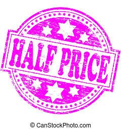 Half Price Stamp