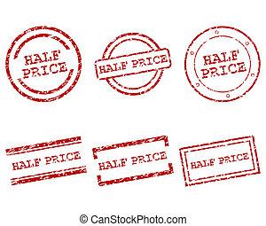 Half price stamps