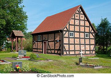 Half-Timbered Church