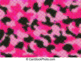 Half tone camouflage