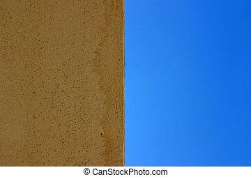 Half wall half sky