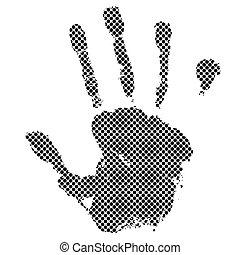 halftone, 手