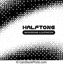 Halftone background