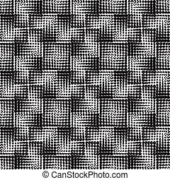 Halftone  background seamless pattern