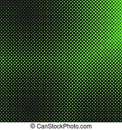 Halftone dot background pattern template - vector graphic