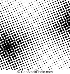 halftone dot - black halftone dot (vector illustration)