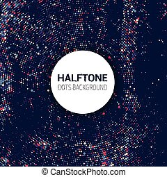 halftone dots background 2010