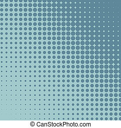 Halftone grey and blue diagonal vector background.