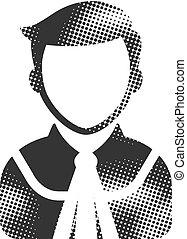 Halftone Icon - Judge avatar