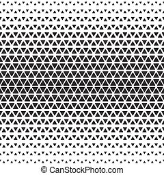 Halftone monochrome geometric pattern. Background print...