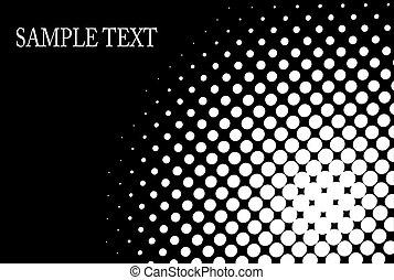 halftone pattern background - halftone, dot pattern...