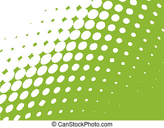 A vector version of halftone dots, you can put art in it, or behind it, the color is also can be changed