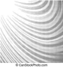 Halftone Pattern. Dots Effect