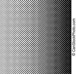 Halftone Pattern - Retro halftone pattern.