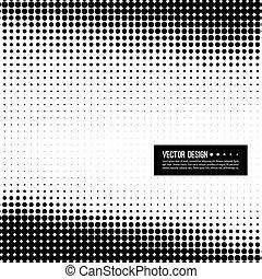 Halftone pattern vector
