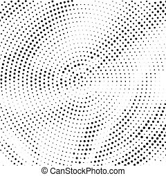 Halftone pattern.
