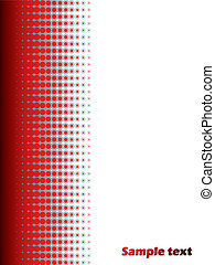 Halftone red background 2