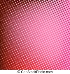 Halftone red background. Creative vector illustration