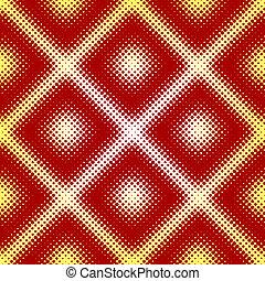 Halftone seamless tile