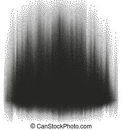 halftone, skutek, illustration., eps, 10