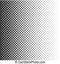 Halftone square dot vector texture. Halftone pattern tone...