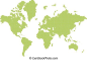 Pixel map of world dotted world map halftone horizontal banner halftone world map gumiabroncs Images