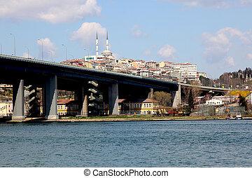 Halic Bridge Istanbul