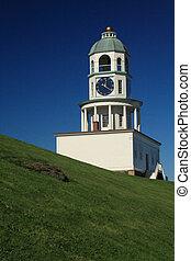 Halifax Clock Tower 2 - Portrait of the Halifax Clock Tower ...