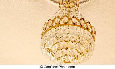 hall., concept, concert, restaurant, très, lustre, luxe, life., chic, ou, coûteux