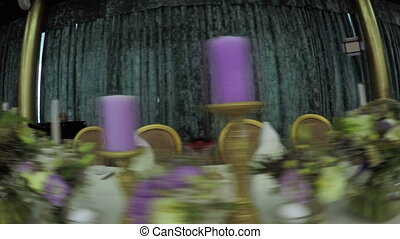 Hall decoration wedding