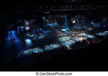 hall in nightclub