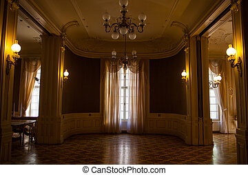 Hall in the Lviv ancient casino - Rich entrance hall in Lviv...