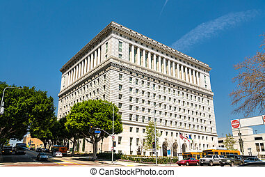 Hall of Justice in Los Angeles City