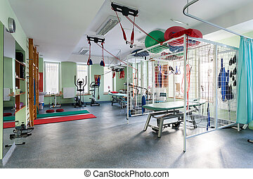 Hall rehabilitation - Spatial hall rehabilitation with...