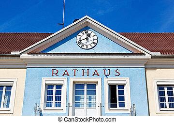 the city council of stegersbach in burgenland in austria