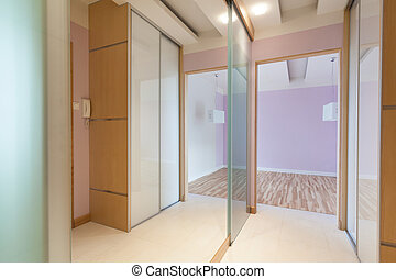 Hall with mirrors