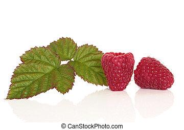 hallon, frukt