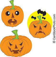 Halloweem pumpkin