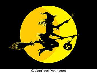 halloween 巫婆