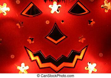 halloween 2 - backlighted pumpkin for halloween