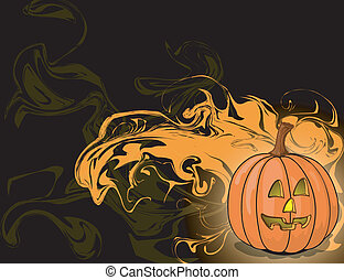 Halloween abstract background Halloween abstract background Hall
