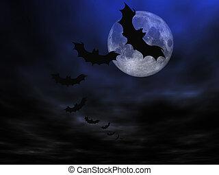 halloween, achtergrond