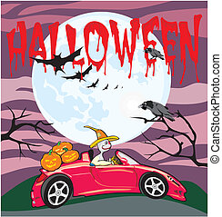 halloween - all soul`s day - all saints day, a terrible...