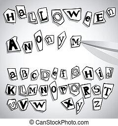 Halloween Alphabet