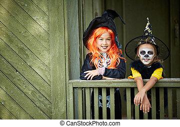 halloween, amis