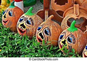 Halloween and ceramics 1